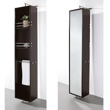 Wyndham Claire Rotating Wall Cabinet | Wall- Floor Mounted storage ...