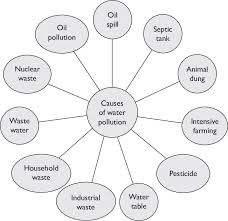 Types Of Water Pollution Chart Major Causes Of Water Pollution Download Scientific Diagram
