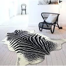bloomsbury market alegre faux zebra shape black white indoor area zebra area rug animal print area