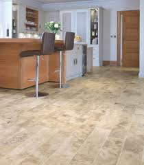 Kitchen Flooring Laminate Flooring In A Kitchen Faux Wood Floor Tiles Rustic Bay