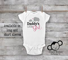 Little Me Clothing Size Chart Daddys Little Girl Onesie Daddy Loves Me Onesie Daddy Baby Clothes Elephant Baby Onesie Baby Shower Gift I Love Daddy Onesie
