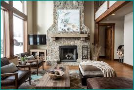 fireplace decor ideas rustic best home living room animal art stones rustic living rooms with fireplaces u58 rustic