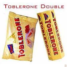 toblerone chocolate duo