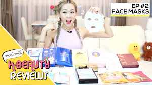 korean sheet masks