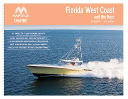 Maptech Chartkit Book Florida West Coast The Keys