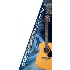 yamaha acoustic electric guitar. yamaha gigmaker f310 value added acoustic guitar pack, natural electric