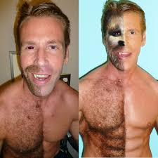 half man half werewolf step by step makeup tutorial