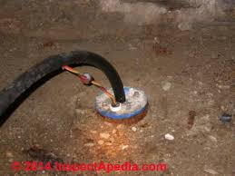 water pump wiring troubleshooting repair submersible well pump wiring entering at the well casing top an indoor well c
