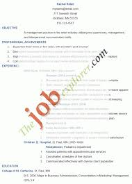 Objective For Resume Sales Best of Resume Objective Statement For Customer Service Retail Management