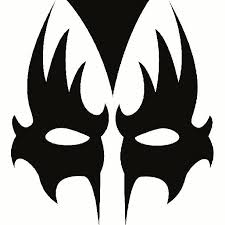 gene simmons makeup evolution. gene simmons kiss makeup stencil - bing images evolution a