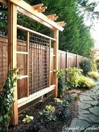 diy garden arbor free plans