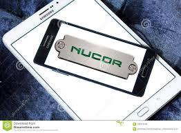 nucor steel corporation logo editorial stock image ilration of america logos 108327539