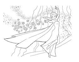 Small Picture Elsa From Frozen Coloring Pages Coloring Coloring Pages