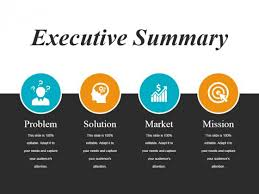 Executive Sumary Executive Summary Ppt Powerpoint Presentation Infographic Template