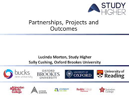 Partnerships, Projects and Outcomes