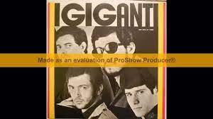 I Giganti - I Giganti (1966 - Full Album) - YouTube