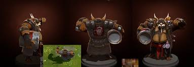 dota2 brewmaster leather throttle polycount