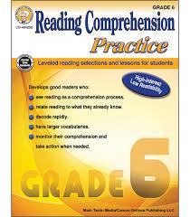 6th grade grade 6 english comprehension worksheets. Reading Comprehension Practice Resource Book Grade 6 Paperback