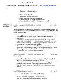 advocate resumes