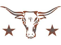 Cow Template Details About Longhorn Stencil Reusable Cow Bull Skull Texas Farm Animal Cattle Wall Template