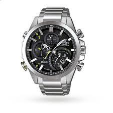 edifice bluetooth mens watch designer watches watches goldsmiths edifice bluetooth mens watch