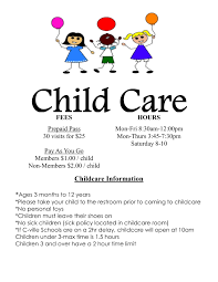 childcare flyers info daycare flyer templates teamtractemplate s