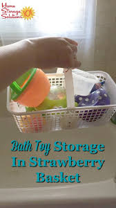 use a small basket with holes for draining such as a strawberry basket for