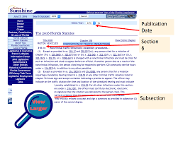 Explanation Example Apa Citing Florida Statutes Libguides At