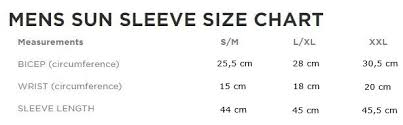 Coolibar Size Chart Uv Sleeves For Men Grey Heather