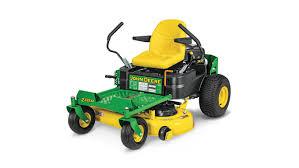 zero turn lawn mower accessories. three-quarter view of z335m residential ztrak mower zero turn lawn accessories
