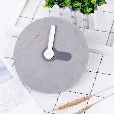 nordic style 8 inch mdf wall clock