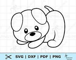 They will give your kid the opportunity to learn more about the finer art of coloring. Puppy Coloring Page Etsy