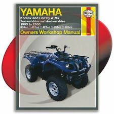 yamaha grizzly 600 manual 1998 2001 yamaha grizzly 600 haynes repair manual 2567 shop service garage