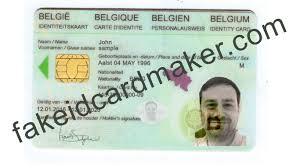 Virtual Identity Maker Belgium - Fake Card Id