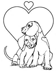 Mom watches her puppies play. 20 Free Printable Puppy Coloring Pages Everfreecoloring Com