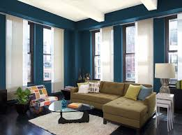 office color scheme. danube blue paint good office color scheme