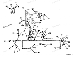 Evinrude johnson outboard wiring diagrams mastertech marine with omc boat electrical wiring omc instrument wiring diagram
