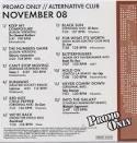 Promo Only: Alternative Club (November 2008)