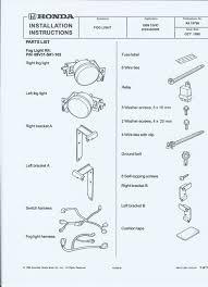 99 civic fog light wiring diagram 99 wiring diagrams