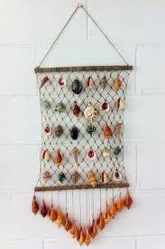 seashell craft wall hanging decoration ideas art craft on wall hanging art and craft ideas with art craft wall hanging elitflat