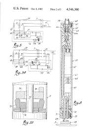 patent us4546300 electric power supply connection for patent drawing