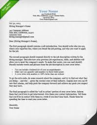 Best Cover Letter Template How To Write A Great Cover Letter Step By Step Resume Genius