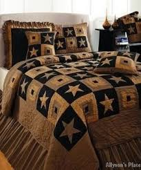 23 best Quilts images on Pinterest | Blankets, Comforter and ... & Primitive Star Quilt Set; Bedding from Allysonsplace.com Adamdwight.com