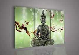 Small Picture Amazoncom Wall art God Home Decor India Buddha Oil Painting on