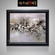 get ations ruijie hand painted oil painting framed painting the entrance decorative painting modern painting decorative painting framed