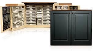Clever Original Scrapbox Minibox Black Raised Panel Scrapbooking Craft  Armoire Storage Cabinet Work Table And Adjustable