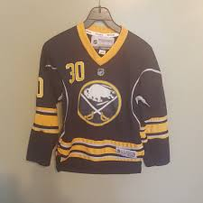 Buffalo Sabres Ryan Miller Hockey Jersey Size Sm Med Youth