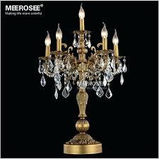 candelabra table lamp uk