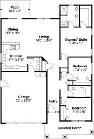 Cottage Style House Plans   Plan   Main Floor Plan