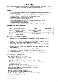 Data Analysis Resume | Cover Letter